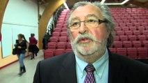 L'interview de Vincent Burroni, quelques instants après la réunion publique.