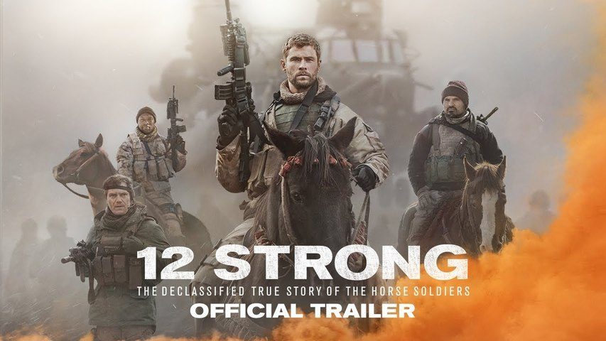 12 Strong Trailer 19/01/2018