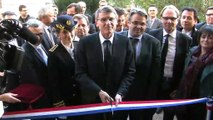Quelques images de la visite du ministre de l'éducation nationale, Vincent Peillon.