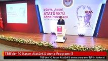 TBB'den 10 Kasım Atatürk'ü Anma Programı-3