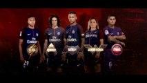 PSG - Les joueurs parisiens rejoignent la Justice League