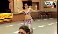 Girl Dance Skills Arabian Belly Dance at Dubai