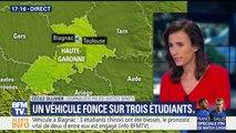 Un véhicule qui a foncé sur un groupe de personnes à Blagnac a blessé trois étudiants japonais dont deux grièvement
