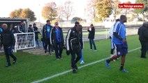 Football. Coupe de France 7e tour :  les Gledar de Kourou à l'entrainement au Stade Fred Aubert