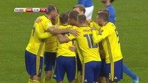 Qualifications Coupe du Monde 2018 - Barrages - L'ouverture du score pour la Suède face à l'Italie !