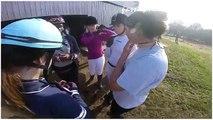 [Horseball GoPro] 2 ème match CHUTES♥ Gé saute de son cheval!