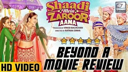 Shaadi Mein Zaroor Aana Beyond A Movie Review | Rajkummar Rao