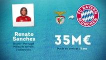 Officiel : Renato Sanches (Benfica) signe au Bayern Munich !
