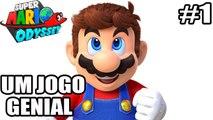 Super Mario Odyssey - Nintendo Switch - UM JOGO GENIAL - parte 1