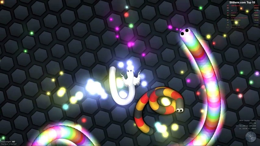 Slither.io Angel Baby Killing Biggest Snakes Epic Slitherio Gameplay Compilation!