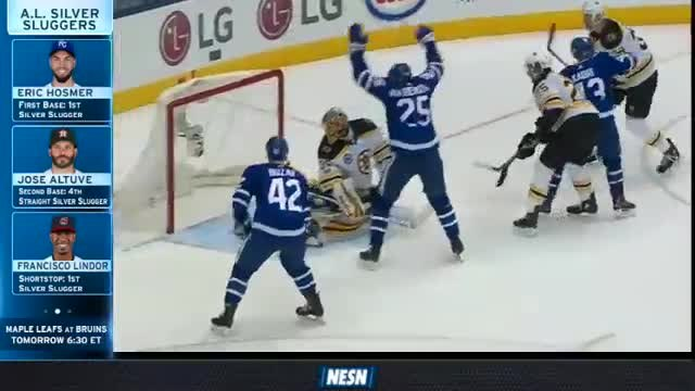 Bruins Wrap: Drop Points In 3-2 OT Loss At Toronto Maple Leafs