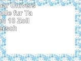 Pouch Classic CL 10IB abwischbar UniversalSchutzhülle für Tablet 254 cm 10 Zoll mit