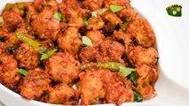 Gobi fry Recipe | Gobi 65 recipe | Samayal Manthiram