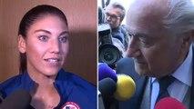 """""""Sepp Blatter m'a pincé les fesses"""""""