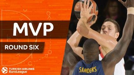 Round 6 MVP: Vladimir Stimac, Anadolu Efes Istanbul