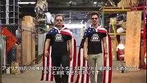GI Gadgets - America -Iron man- Megabot Mark II vs Japan KURATAS Robot