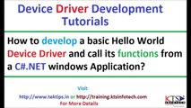 How to develop a Windows driver|Device driver development|xp drivers|install windows from windows