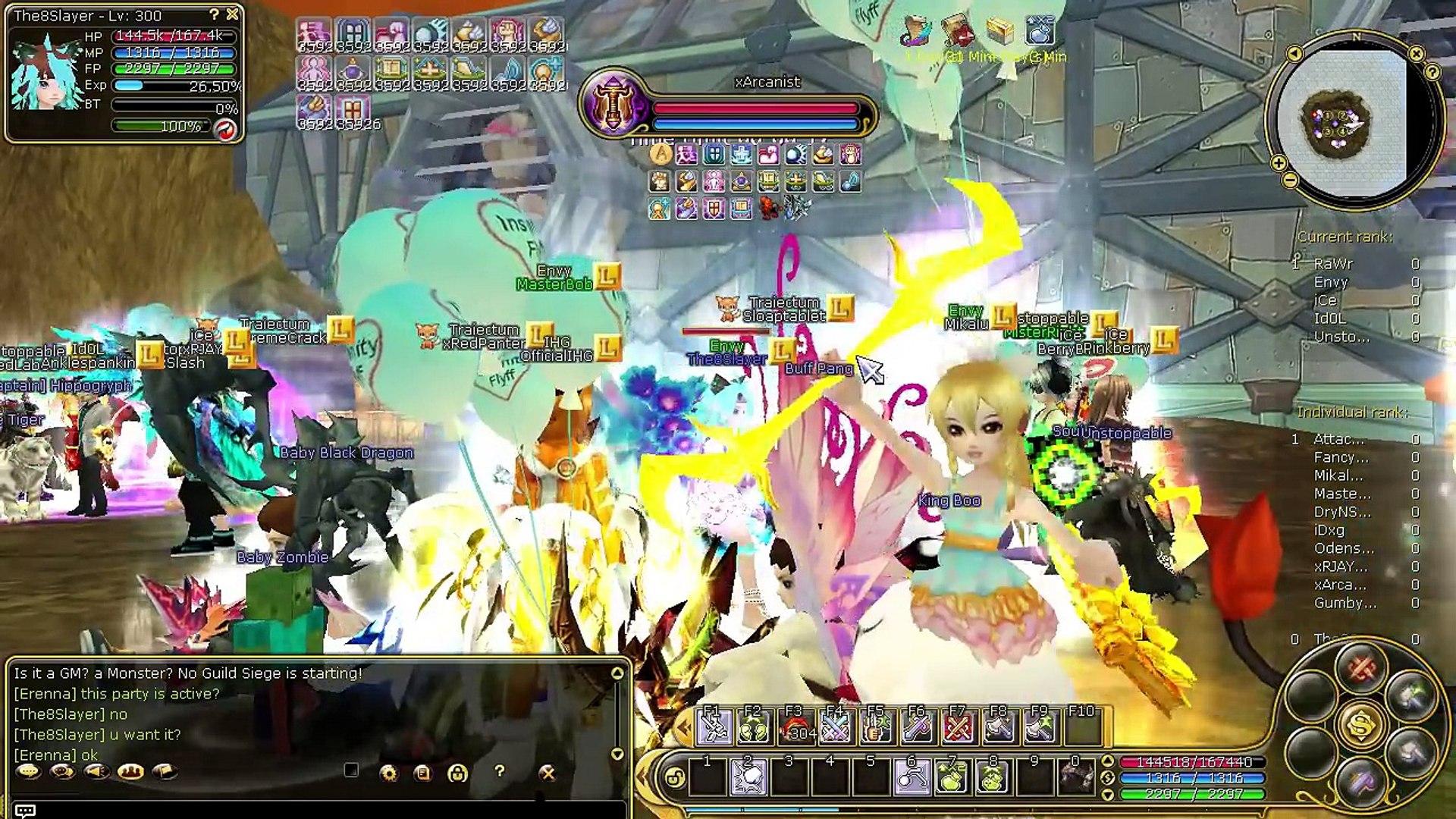 Insanity Flyff E125 - Guild Siege 23 September new