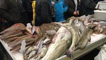 Stéphane Travert rencontre les pêcheurs