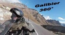 Col du Galibier - Une partie de la montée  côté Valloire - Goldwing 1800 - hayadada