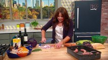 Roast Chicken and Sausage with Grapes and Olives | Rachael Ray Show