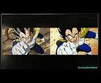 Dragon ball Z Kai Vegeta Great Ape Transformation Comparison (90s version Vs Remastered Version)