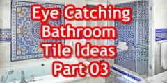 Eye Catching Bathroom Tile Ideas Part 03 Stylish designer bathrooms