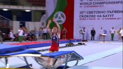 Alex Renkert - 2017 World T&T Championships - Double-Mini Team Final
