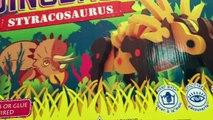 EXTREME DINOSAURS 26 Minutes 3 Dinosaurs 3-D Foam Puzzle