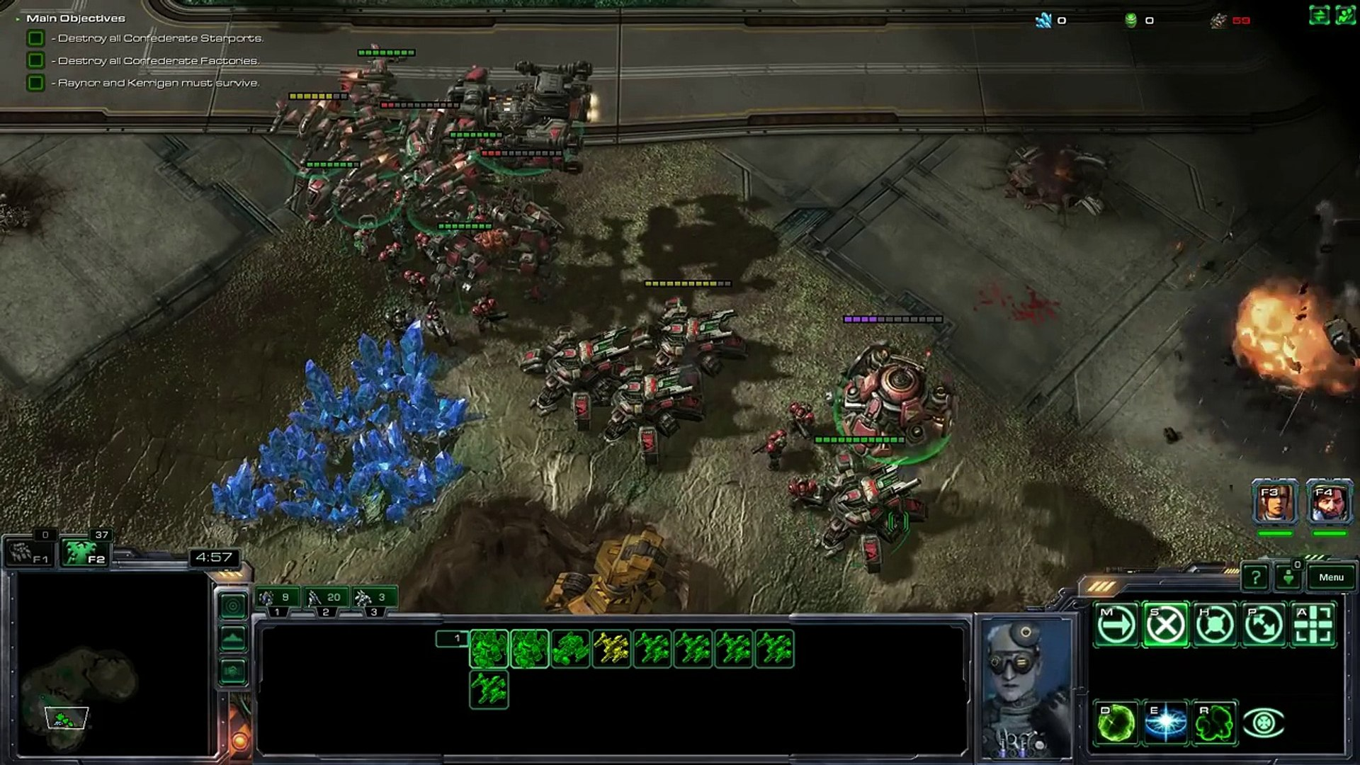 Starcraft: Mass Recall T1 8b (HIDDEN!) - Operation Silent Scream