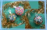 Recyclez vos vieilles boules de noël !