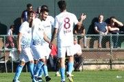 Trabzonspor Hazırlık Maçında Karşılaştığı Irak'ın Naft Missan Takımını 4-0 Yendi