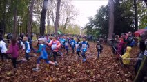 Cross de la Rose Course Poussins Poussines le 12/11/2017