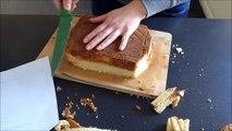 How to make a 3d Jack Daniels bottle cake / Jak zrobić tort w kształcie butelki
