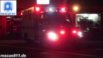 BLS Ambulance 825 + ALS Ambulance 825 PGFD