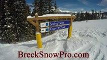 Breckenridge Ski Tour: Four O'clock (Peak 8, Intermediate/Beginner)