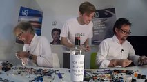 The Grand Tour Live  Richard Hammond and James May building LEGO Cars-001