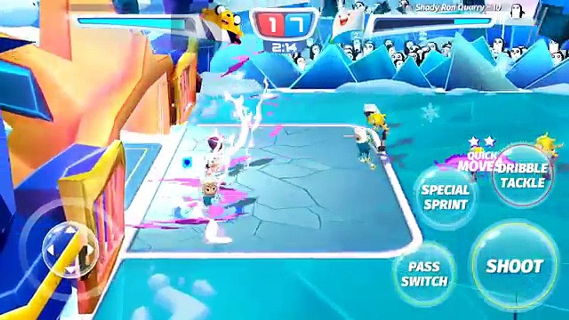 Cartoon Network Superstar Soccer Goal - FIN TEAM - CHAMPIONSHIP BRACKETS - FINS GOLD TROPHY