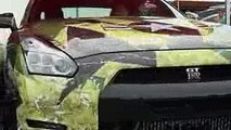 2000馬力!35,GTRの加速!300キロまで一瞬です(笑)CRAZYな車達!street race, drift,engine swaps, Crazy Car
