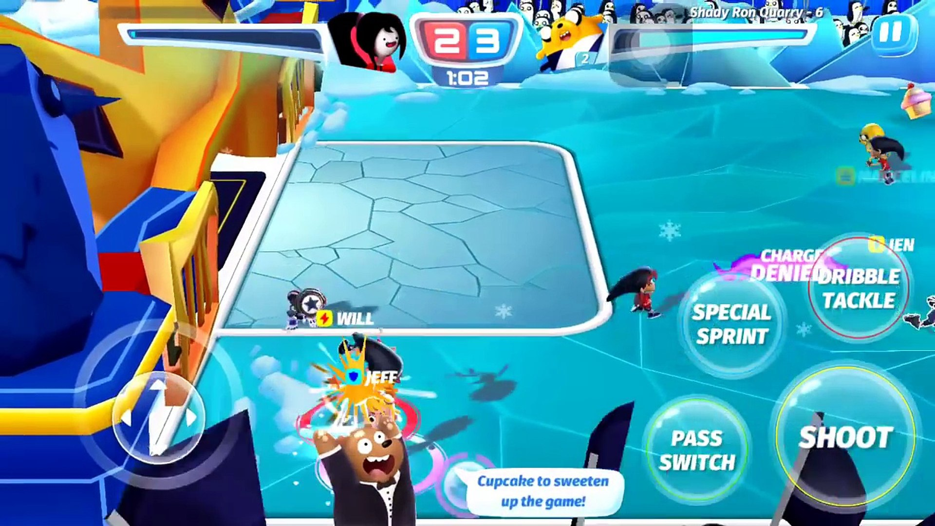 Cartoon Network Superstar Soccer Goal - JAKE TEAM - CHAMPIONSHIP BRACKETS -JAKES GOLD TROPHY