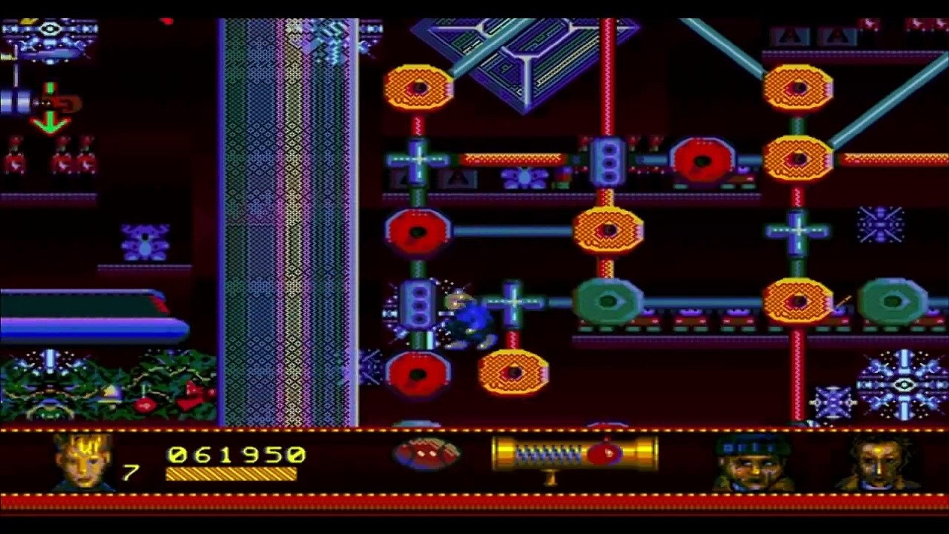 Home Alone - 2: Lost in New York (Sega Mega Drive/Genesis).