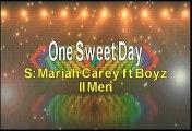 Mariah Carey ft Boyz II Men One Sweet Day Karaoke Version