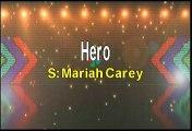 Mariah Carey Hero Karaoke Version
