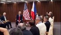 Bilateral meeting of Rodrigo Duterte, Donald Trump in Manila