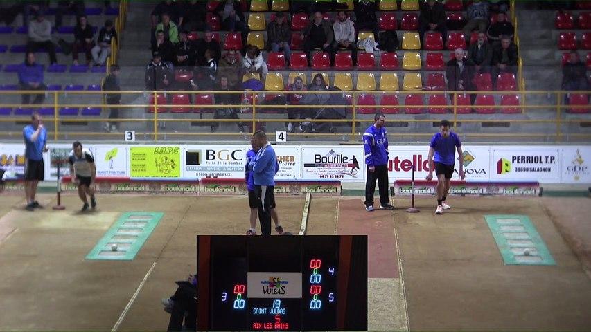Troisième tour, tir progressif, Club Elite Masculin J4, Saint-Vulbas contre Aix-les-Bains, novembre 2017