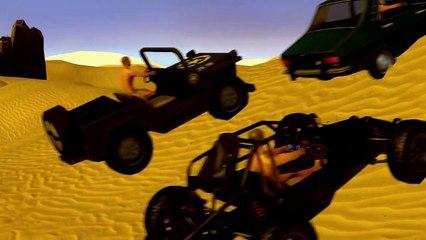 배틀 카트 그라운드   배틀그라운드 애니메이션 Battle Kart Ground / PUBG Animation