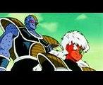 DBZ Cap066.4 Vegeta cuenta la leyenda del super saiyajin  Vegeta ve el movimiento de Goku