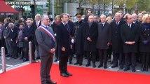 Commémorations du 13-Novembre: Les images de l'hommage de Macron au Stade de France