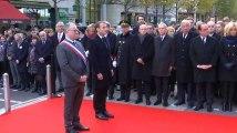 Macron rend hommage aux victimes des attentats du 13-Novembre