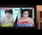 ジャンポケ斉藤  水上バレーボール避け